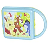 DISNEY POOH SANDWICH LUNCH BOX WITH HANDLE, MULTI COLOR