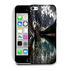 Snoogg Lake View Printed Protective Phone Back Case Cover For Apple Iphone 5C