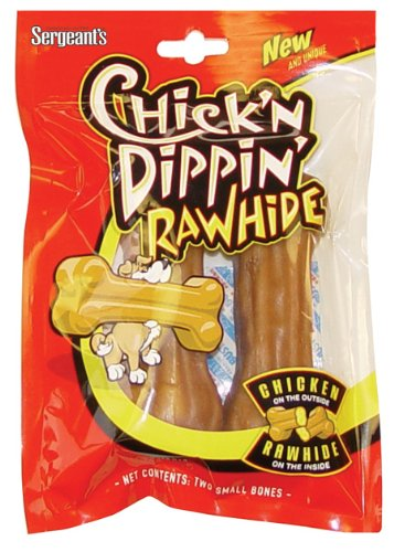 Sergeant's Chick'n Dippin' Small Rawhide Pressed