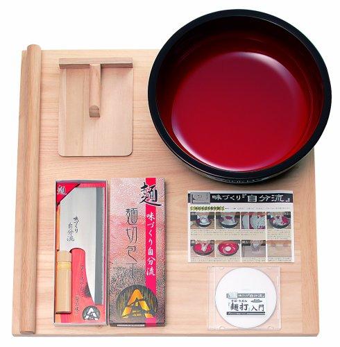 豊稔 家庭用麺打セットA そば・うどん麺打入門DVD付 A-1230