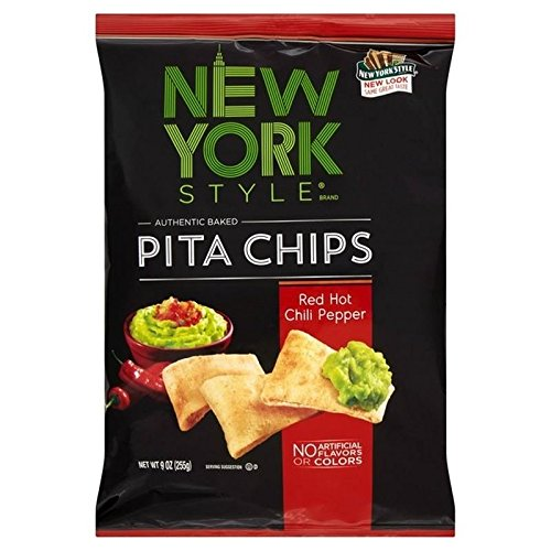 New York Style Red Hot Chilli Peppers Pita-Chips 255G