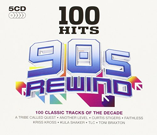 100 Hits 90s Rewind Cd