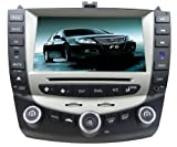 Pioeneer Intelligent (2003-2007) Honda Accord 6-8 Inch Touchscreen Double-DIN Car DVD Player & In Dash Navigation System,Navigator,Build-In Bluetooth,Radio with RDS,Analog TV, AUX&USB, iPhone/iPod Controls,steering wheel control, rear view camera input