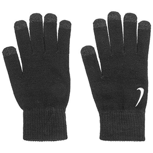 Knitted Tech Gloves Guanti Nike guanto a dita guanti da donna S/M - nero