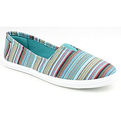 Divaz Taylor Womens Striped Summer Shoes