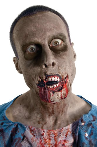 The Walking Dead TV Show Grim Grin Latex Accessory, Multicolored, One Size