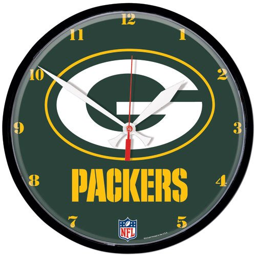 IFS - Green Bay Packers NFL Round Wall Clock