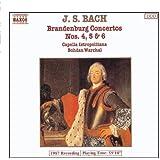 Bach: Brandenburgische Konzerte 4-6 Warchal