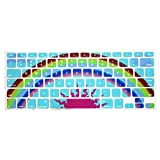 Colourful Tpu Soft Silicone Keyboard Case Cover Protector For Apple Macbook Air 13.3