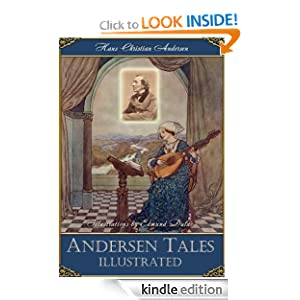 Andersen Fairy Tales Illustrated by Edmund Dulac: The Emperor's New Clothes; The Princess on the Pea; The Snow Queen and othes