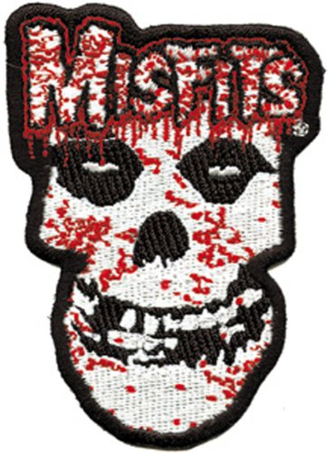 Application Misfits Bloody Skull Patch