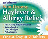 GALPHARM Loratadine 10mg Hayfever and Allergy Relief One-a-Day Tablets 7's