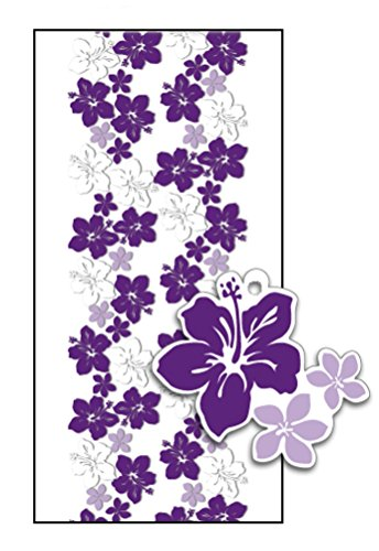 Hawaiian Candy Lei Kit Hibiscus Purple Lei Day - 1