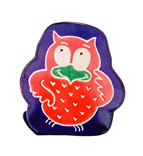 Sitara Collections® Cruelty-free Leather Toy Bank - Owl - 1