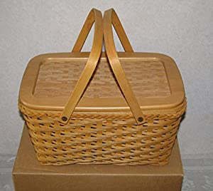 Amazon.com - Longaberger Founder's Market Basket with Protector and Lid