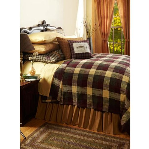 "Why Should You Buy Truman King Woven Coverlet 114"" x 103"""