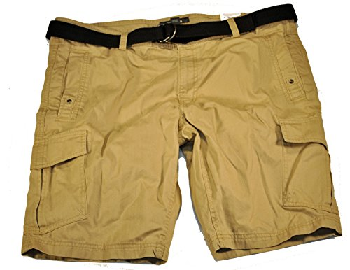 Kenneth Cole Belted Mens Cargo Shorts size 38