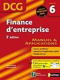 DCG Epreuve 6 : Finance d'entreprise - Manuel & Applications