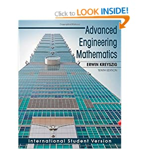 advanced engineering mathematics by erwin kreyszig 10th edition solution manual download