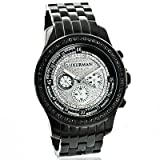 Black Diamond Watches for Men by LUXURMAN 2.25ct