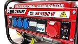 4-Takt 9500 W Stromerzeuger Stromgenerator Generator Notstromaggregat SWISSKRAFT -
