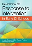 img - for Handbook of Response to Intervention in Early Childhood book / textbook / text book