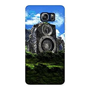 Cute Mountain Range Speaker Back Case Cover for Galaxy Note 5