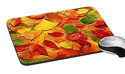 meSleep Autumn Leaves Mouse Pad