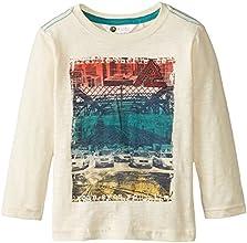 Petit Lem Little Boys39 Long Sleeve Slub Jersey T-Shirt