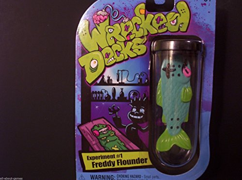 Wrecked Decks Experiment #1 Freddy Flounder