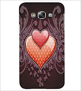 SAMSUNG GALAXY GRAND 3 TWO HEARTS Designer Back Cover Case By PRINTSWAG