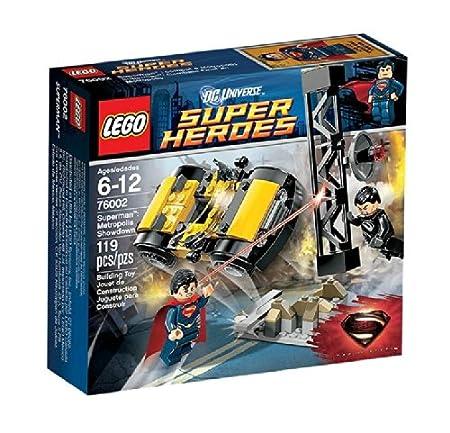 LEGO Super Heroes - DC Universe - 76002 - Jeu de Construction - Le Combat à Métropolis - Superman