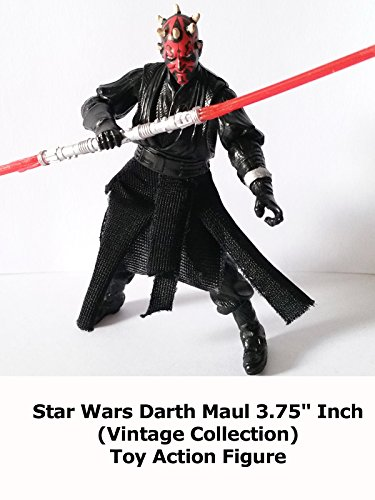 "Review: Star Wars Darth Maul 3.75"" Inch (Vintage Collection) Toy Action Figure"