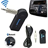 Santech - -Wireless Bluetooth 3.5mm AUX Audio Stereo Music Home Car Receiver Adapter Mic AU / Car Bluetooth Music...