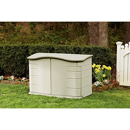 3747 rubbermaid horizontal storage shed at competitive for Horizontal storage shed