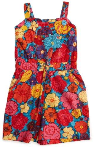 Uttam London Flower Design Playsuit Girl's Pyjames