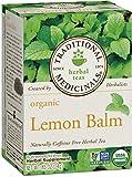 Traditional Medicinals Organic Lemon Balm Tea, 16 Tea Bags