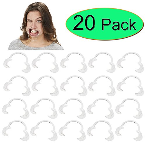 BEST PRICE 20 x Extra Replacement Mouthpieces For Speak Out Mouthguard Challenge Game