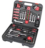 GreatNeck TK119 Home and Garage Tool Set, 119-Piece
