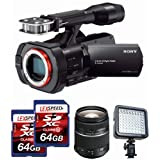 Sony NEXVG900 Full Frame Interchangeable Lens Camcorder Video Camera and 28-75mm Full Frame Lens Bundle
