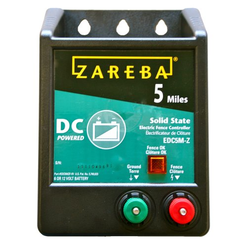 Zareba EDC5M-Z 5-Mile Battery Operated Solid State Fence Charger (Battery Electric Fence compare prices)