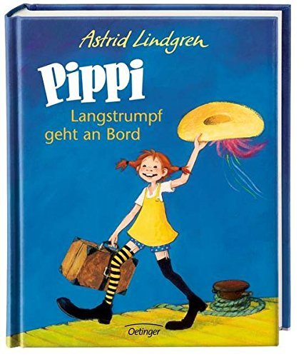 pippi langstrumpf geht an bord farbig. Black Bedroom Furniture Sets. Home Design Ideas