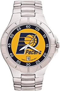 Indiana Pacers Mens Pro II Watch by Logo Art