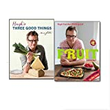Hugh Fearnley-Whittingstall Hugh Fearnley-Whittingstall Collection Set, (Hugh's Three Good Things and River Cottage Fruit Every Day!)