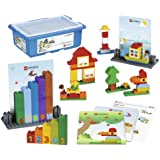LEGO Education DUPLO Creative Builder Set 6024000 (124 Bricks, 4 Building Cards)