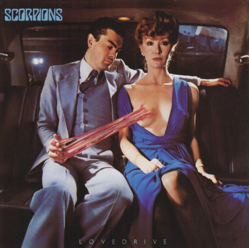 Original album cover of Lovedrive by Scorpions