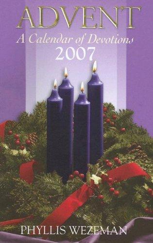 Advent - A Calendar Of Devotions
