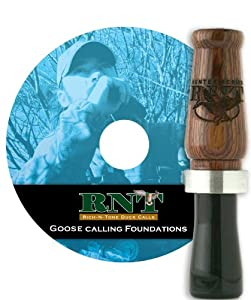 RNT Hunter Goose Call Instructional DVD Combo by RNT Rich N Tone
