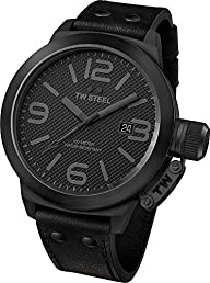 TW Steel Men's TW822 Canteen All Black Watch