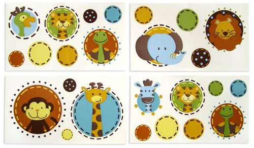 NoJo Jungle Tales Wall Decals